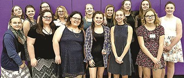 Students compete at winter All-County Musical Festival