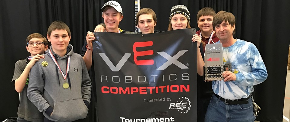 Northern New York State 2018 VEX Robotic Champions