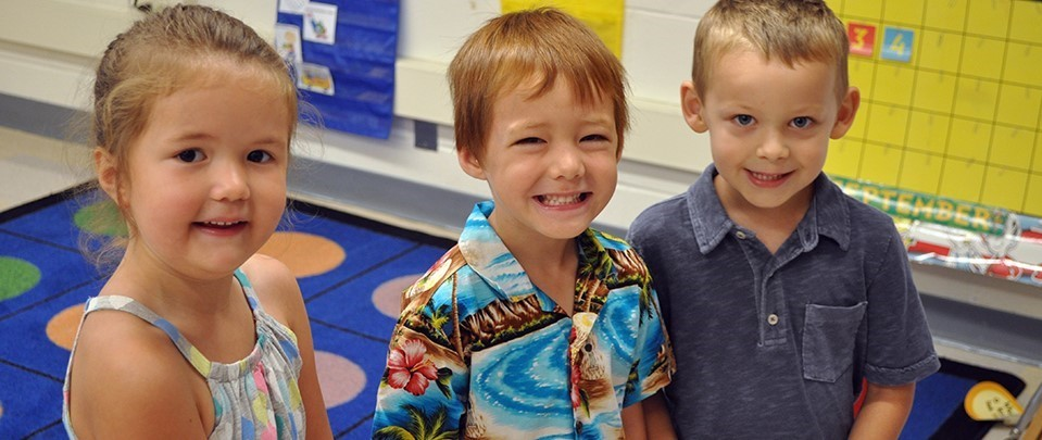 Nothing like those first-day-back-to-school smiles