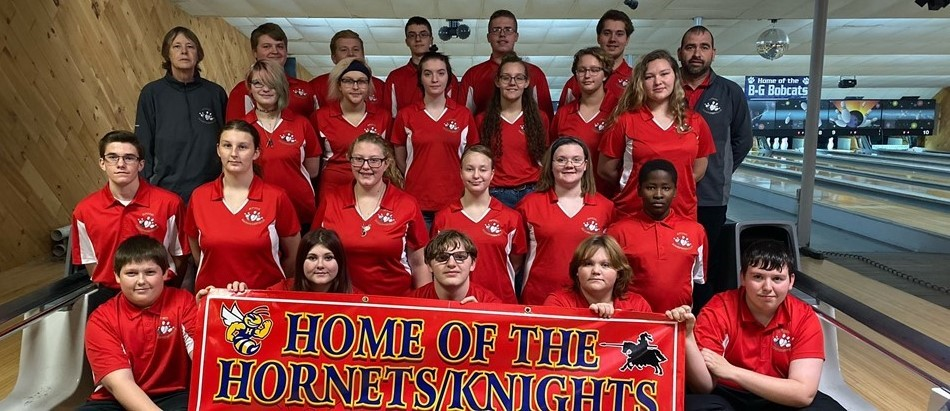 Hornets-Knights Bowling Team December 2019