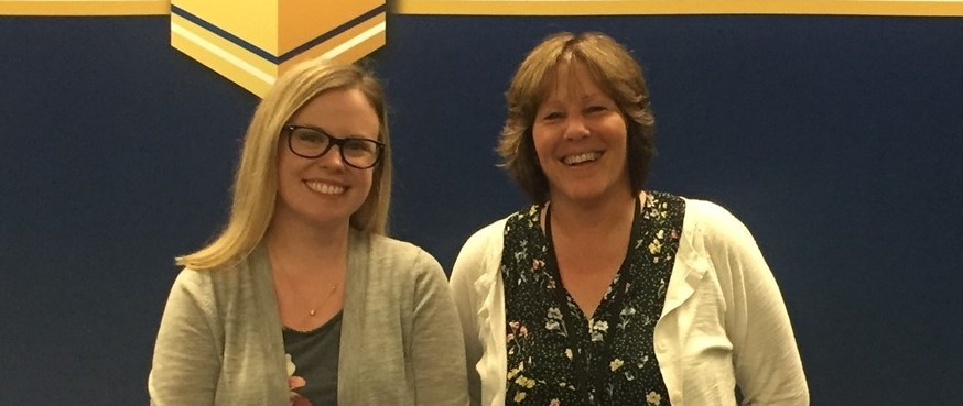 Congratulations on receiving tenure Mrs. Horton and Mrs. Webster!