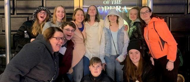 Phantom of the Opera Field Trip February 2020