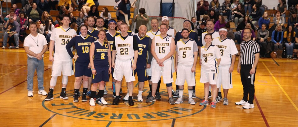 Faculty and Staff Baskeball Game February 2020