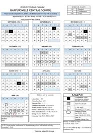 HCS Calendar