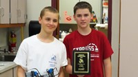 Zach Pike and Nico Hadlick